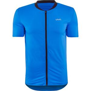 UYN Activyon MTB OW Maglietta Con Zip Intera Uomo, blu blu