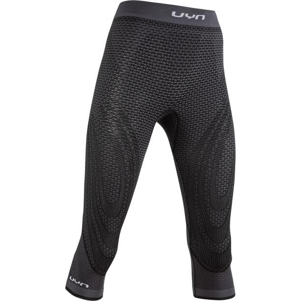 UYN Running Alpha OW Pantalon de cyclisme Femme, noir/gris