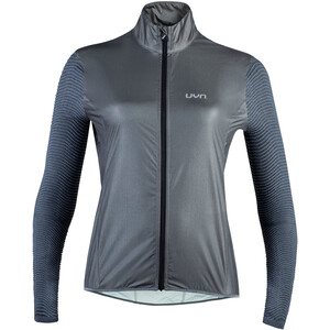 UYN Running Alpha 2.0 OW Wind Jacket Women, black melange/anthracite black melange/anthracite