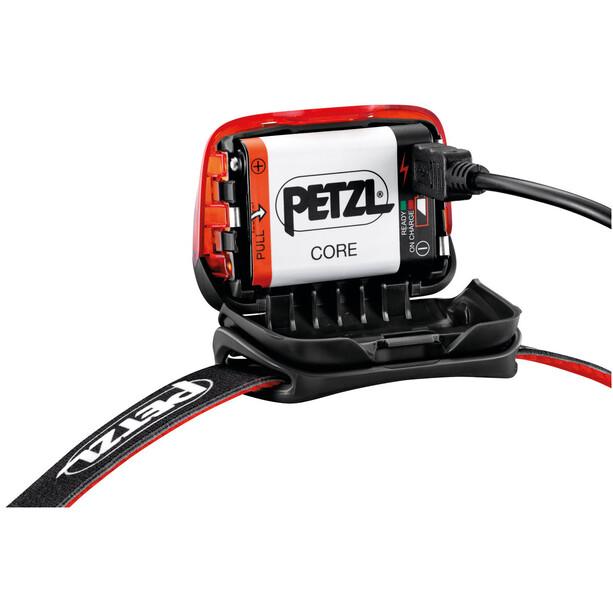 Petzl Actik Core Headlamp red