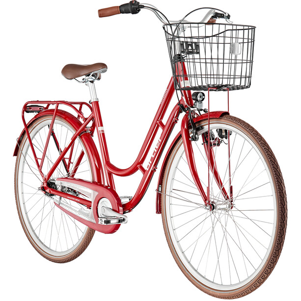 Ortler Copenhagen 7-speed Women candy red