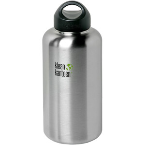 Klean Kanteen Wide Bottle with Loop Cap 1900ml brushed stainless brushed stainless