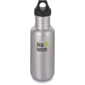 Klean Kanteen Classic Flasche Loop Cap 532ml brushed stainless brushed stainless