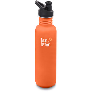Klean Kanteen Classic Juomapullo Sporttikorkki 800ml, oranssi oranssi