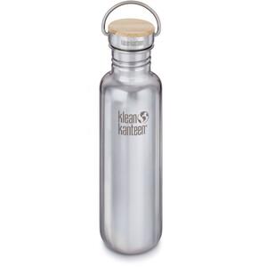 Klean Kanteen Reflect Flasche Bambusverschluss 800ml silber silber