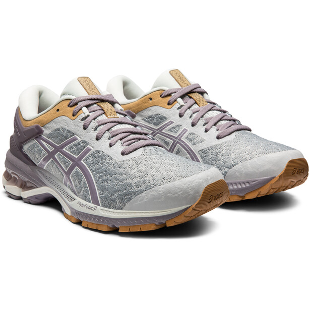 asics Gel-Kayano 26 Schuhe Damen glacier grey/lavender grey