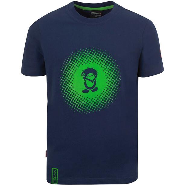 TROLLKIDS Pointillism T-Shirt Kinder blau