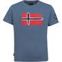 TROLLKIDS Oslo T-Shirt Kinder blau