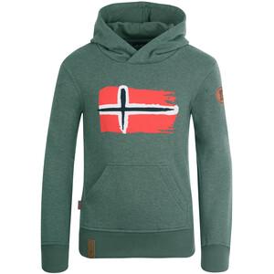 TROLLKIDS Trondheim Sweater Kinder grün grün