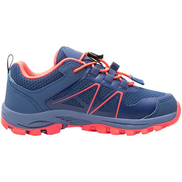 TROLLKIDS Sandefjord Hiker Low-Cut Schuhe Kinder midnight blue/coral
