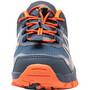 TROLLKIDS Sandefjord Hiker Lage Schoenen Kinderen, blauw/oranje