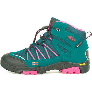 TROLLKIDS Lofoten Hiker Mid-Cut Schuhe Kinder blau/rot blau/rot