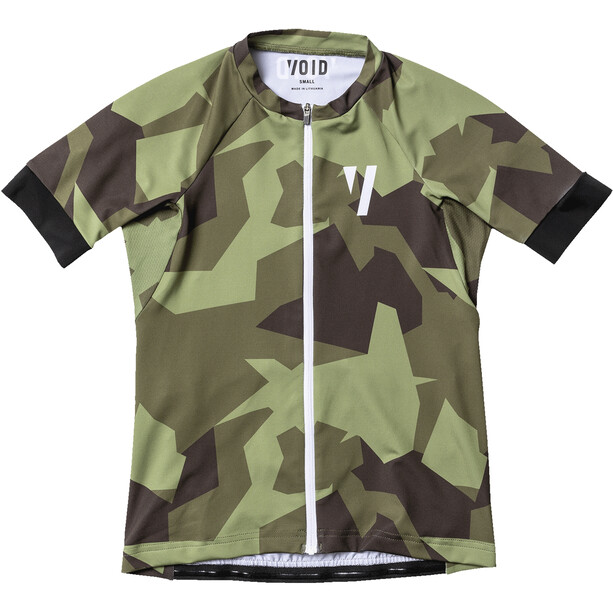 VOID Ride Maillot Manches courtes Femme, olive shield