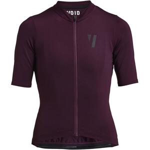 VOID Fine 2.0 Kurzarm Trikot Damen deep purple deep purple