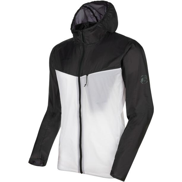 Mammut Convey WB Hooded Jacket Men black/bright white