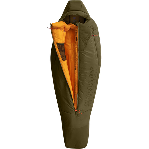 Mammut Protect Fiber Bag Sleeping Bag -18°C XL olive