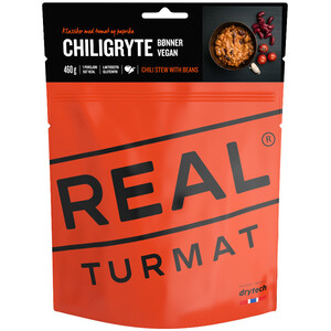 Real Turmat Outdoor Meal 500g Chili Stew with beans (vegan)