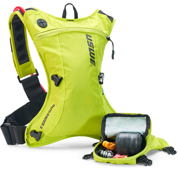 USWE Outlander 3 Backpack crazy yellow