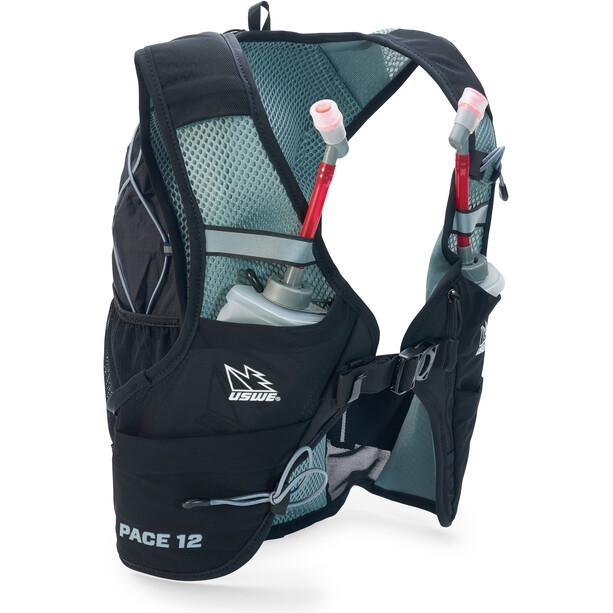 USWE Pace 12 Hydration Backpacks M black/grey