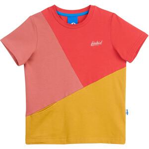 Finkid Ankkuri Kurzarmshirt Kinder pink/gelb pink/gelb