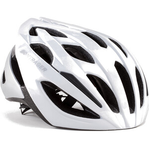 Bontrager Starvos Road Helm trek white/quicksilver trek white/quicksilver