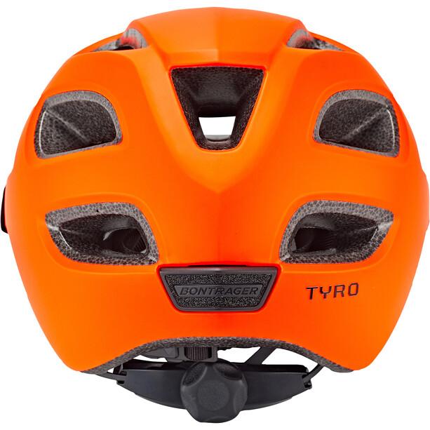 Bontrager Tyro Helm Jugend radioactive orange