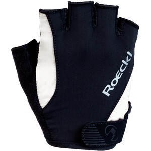 Roeckl Basel Handsker, sort/hvid sort/hvid