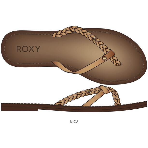 Roxy Livia Sandalen Damen bronze