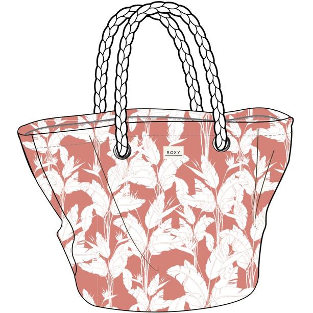Roxy Sunseeker Strandtasche Damen terra cotta flying flowers s