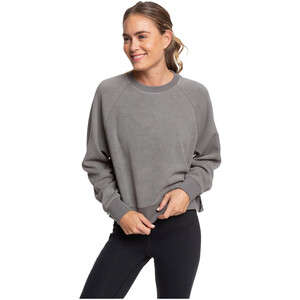 Roxy Instand Crush Fleece Shirt Damen smoked pearl smoked pearl