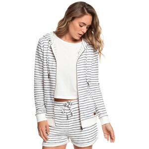 Roxy Trippin Stripes Zipper Hoodie Damen mood indigo zoupla horizontale mood indigo zoupla horizontale