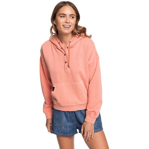 Roxy Girls Who Slide Pullover Hoodie Damen terra cotta terra cotta