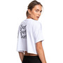 Roxy Oh My Mind T-Shirt Damen bright white