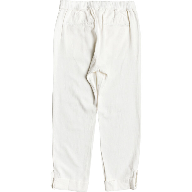 Roxy On The Seashore Pantalon Femme, blanc