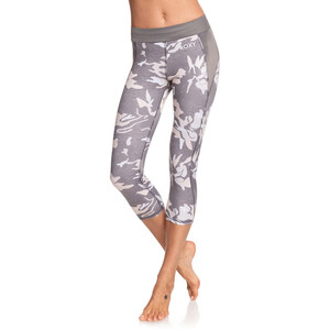 Roxy Take Me To The Beach Capri Damen charcoal heather darwin s charcoal heather darwin s