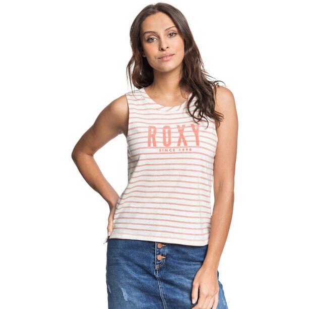 Roxy Are You Gonna Be My Friend Tank Top Damen weiß/orange