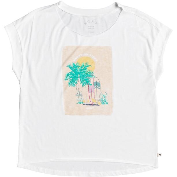 Roxy Sweet Summer Night B T-Shirt Damen snow white