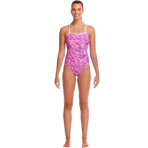 Funkita Single Strap One Piece Badeanzug Damen sweet city sweet city