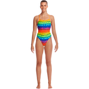 Funkita Strapped In One Piece Badeanzug Damen wing it wing it