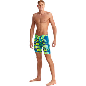 Funky Trunks Training Jammer Herren pop tropo pop tropo
