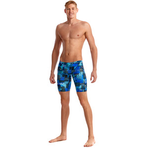 Funky Trunks Training Jammer Herren electric nights electric nights