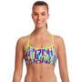 Funkita Swim Crop Top Damen mixed signals