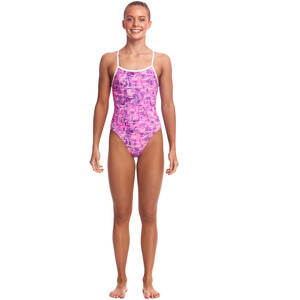 Funkita Single Strap One Piece Badeanzug Mädchen sweet city sweet city