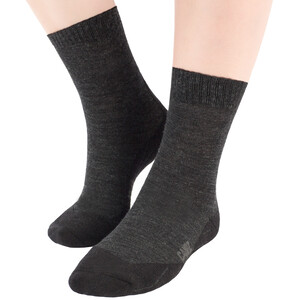 CAMPZ Merino Socks, grey/anthracite grey/anthracite
