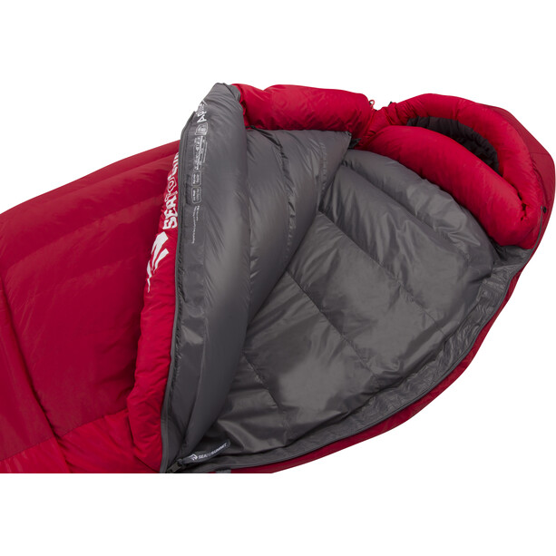 Sea to Summit Alpine AP III Sac de couchage Long, gris/rouge