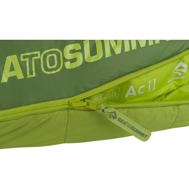 Sea to Summit Ascent AC II Schlafsack Lang grün