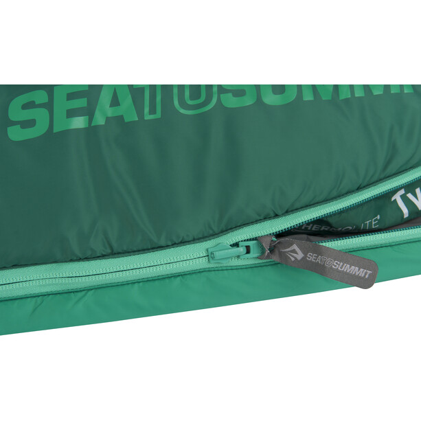 Sea to Summit Traverse TV II Sac de couchage Long, vert