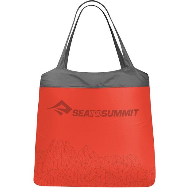 Sea to Summit Ultra-Sil Nano Einkaufstasche rot