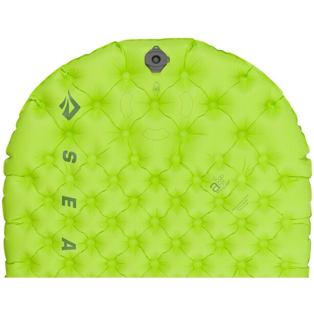 Sea to Summit Comfort Light Isolierte Luftmatte Regular green