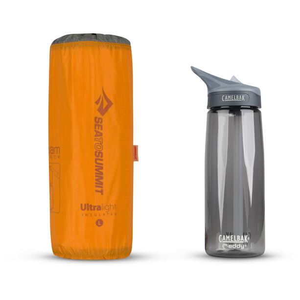Sea to Summit Ultralight Isolierte Luftmatte Large orange